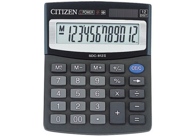 CITIZEN SCD-812II