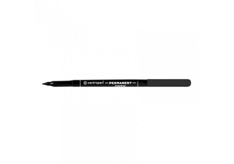 Маркер перманентний Centropen 2536 чорний(9608200000)