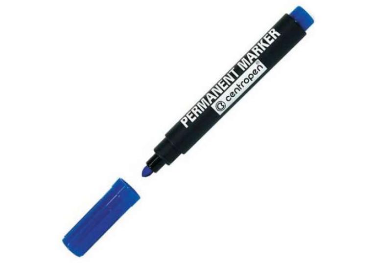 Маркер перманентний Centropen 8566 синій