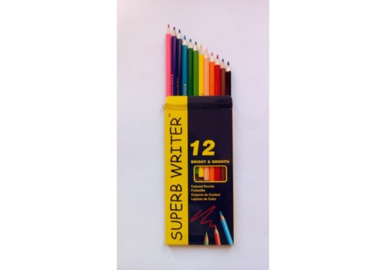 Олівці 12 кольорів 4100-12СВ