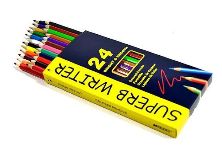 Олівці 24 кольори 4100-24СВ