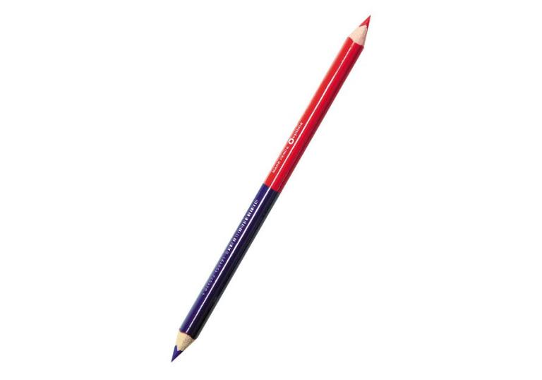 Олівець синій-червоний О15519