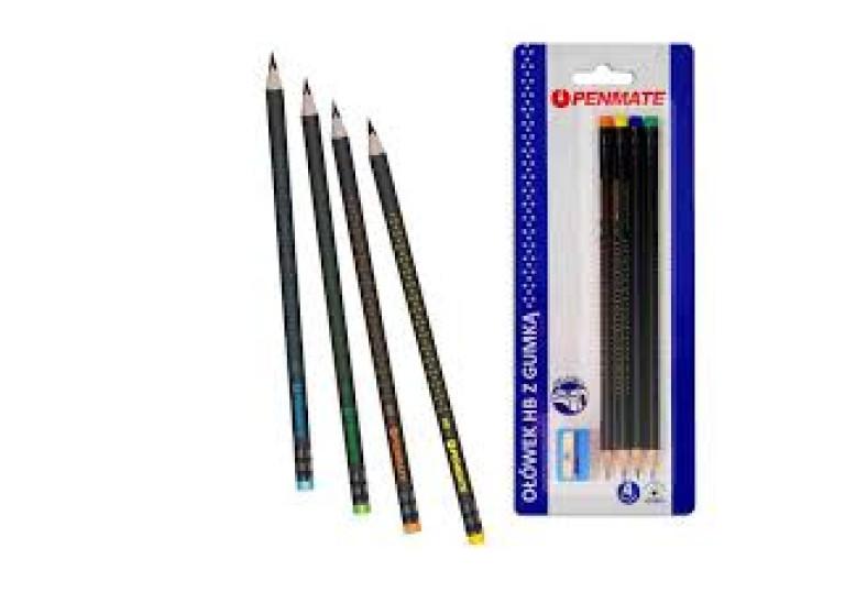 Олівець з гумкою Penmate НВ