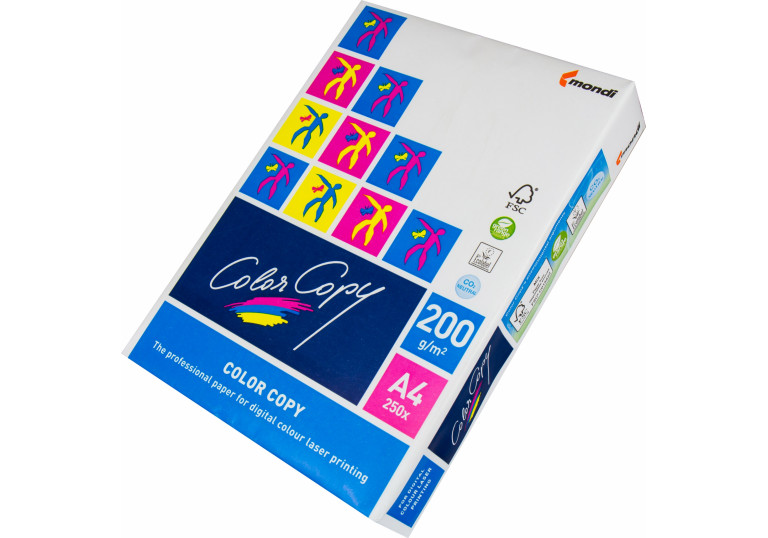 Папір A4 Color Copy  200/м 250 аркушів