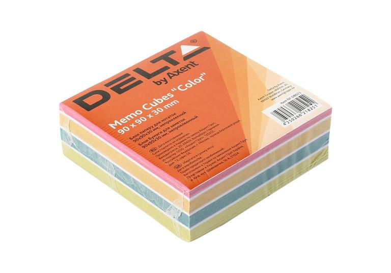 Папір для записів 90х90х30мм проклеєний кольоровий