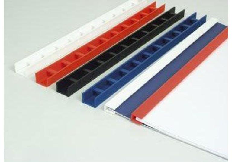 Пресс біндер 5мм синій (50шт)