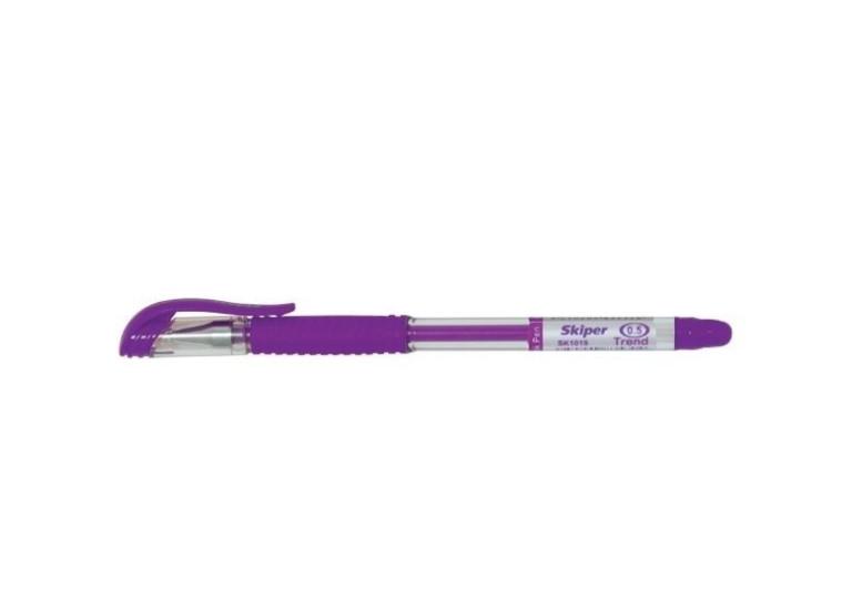 Ручка гелева фіолетова