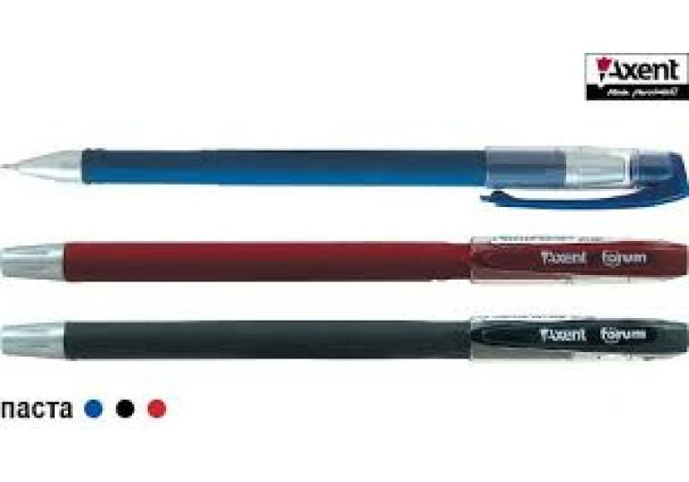 Ручка гелева Forum синя А-1006