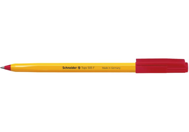 Ручка кулькова SCHNEIDER 505 червона