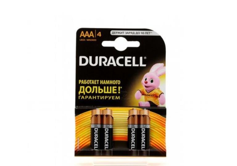 Батарейка R03 Дюрасел
