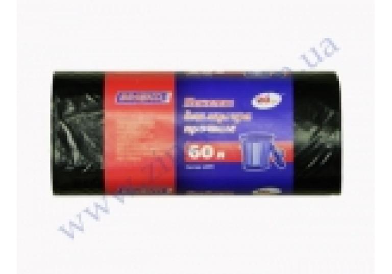 Пакети для сміття 60л (40шт),60*80