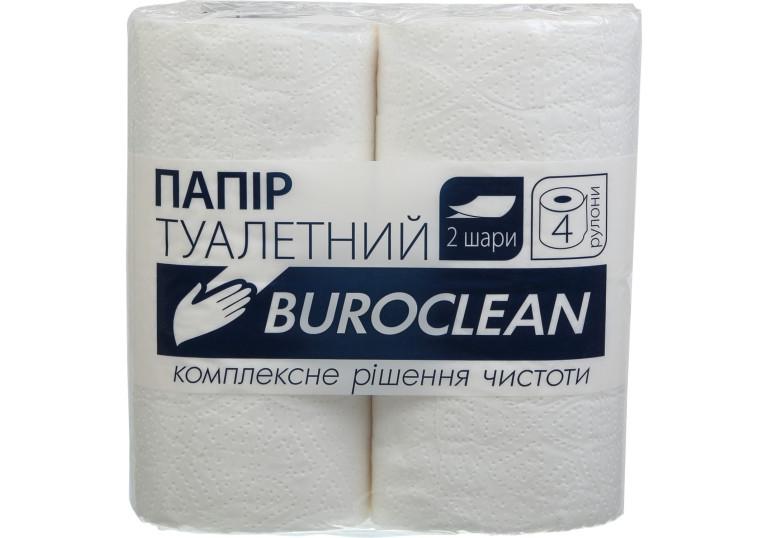Туалетний папір 2 шар.4 рул. Buroclean